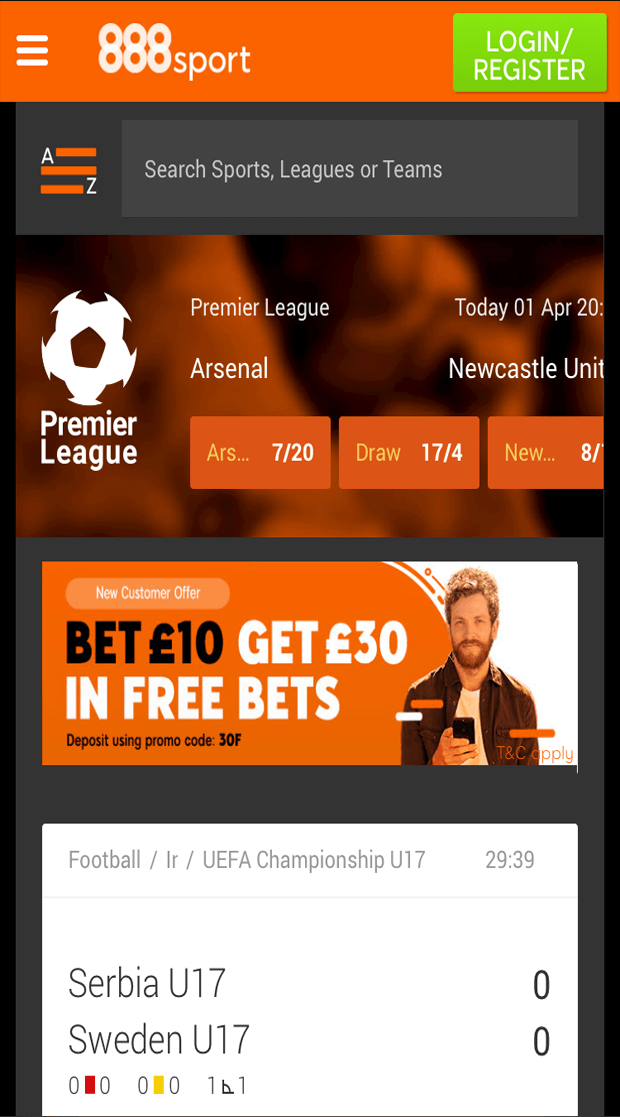 SportNation Free Bet